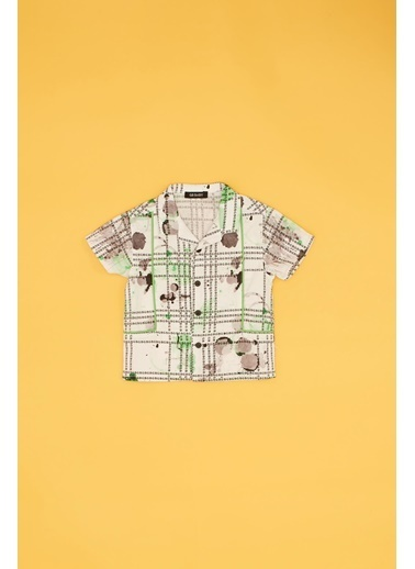 BG Baby Erkek Bebek Desenli Gömlek Renkli